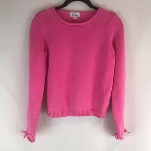 Lilly Pulitzer Pink Rollneck Sweater Sz 14 Girl's